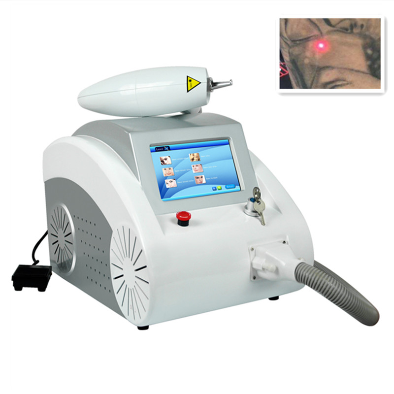 Laser-Machine Eyebrow-Pigment Tattoo-Removal Q-Switched Black Doll Carbon Peeling Sale title=