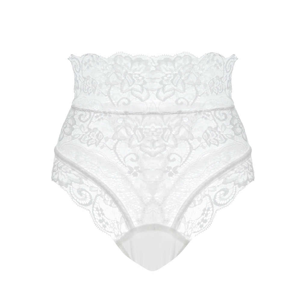Sexy Slipje Vrouwen Hoge Taille Kant Thongs G Strings Ondergoed Dames Hollow Out Underpants Imitatie Lingerie Vrouwelijke