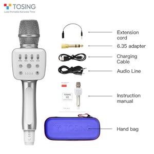 Image 5 - Tosing v2 novo produto versátil de alta qualidade sem fio karaoke aniversário alto falante portátil handheld microfone para cinema em casa ktv