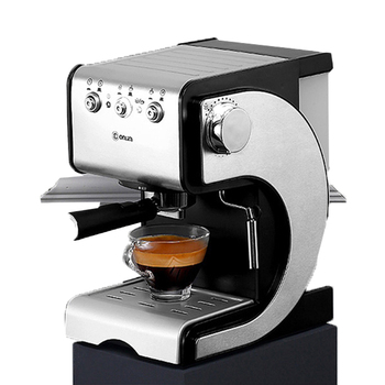 DL-KF500S Coffee Machine Home Small Italian Semi-automatic Steam-type Foaming Stainless Steel 20Bar Commercial Coffee Machine