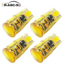 Светодиодная лампа t10 w5w 194 для приборной панели 4 шт