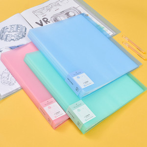 Image 1 - New Arrival 40 60 Pages A3 File Folder Painting Paper Organizer Storage Bag Document Sheet Protectors Book Display Stationery