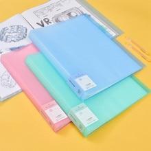 Sac de rangement pour dossiers A3, nouveauté 40 60 Pages, sac de rangement pour papier à peinture, feuilles de protection pour livres et papeterie