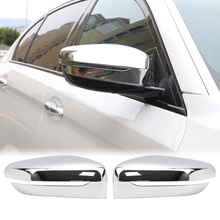 Rearview Chrome Side Wing Mirror Cover for BMW 5 Series G30 G31 G38 / 7 Series G11 G12 2016 2017 2018 2019 2020 Exterior Trim