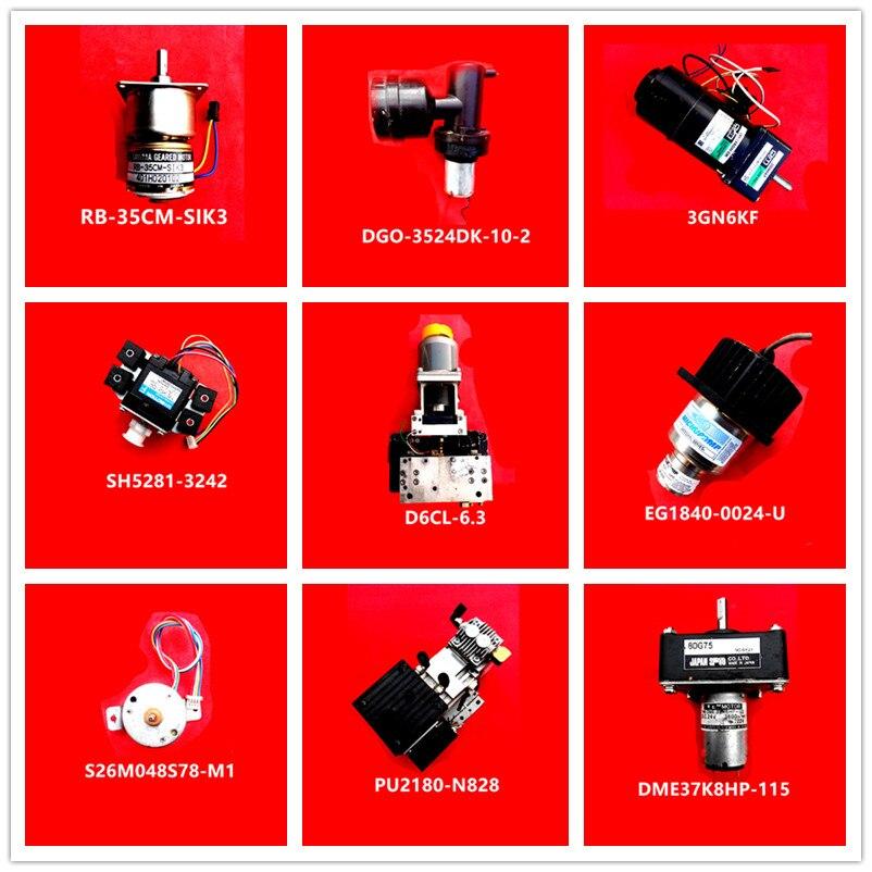 RB-35CM-SIK3| DGO-3524DK-10-2| 3GN6KF| SH5281-3242| D6CL-6.3| EG1840-0024-U| S26M048S78-M1| PU2180-N828| DME37K8HP-115 Used