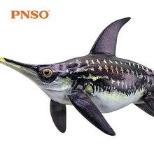 PNSO tarih öncesi deniz yaşamı Eurhinosaurus antik hayvanlar şekil yaş dinozorlar klasik oyuncaklar Boys için çocuk