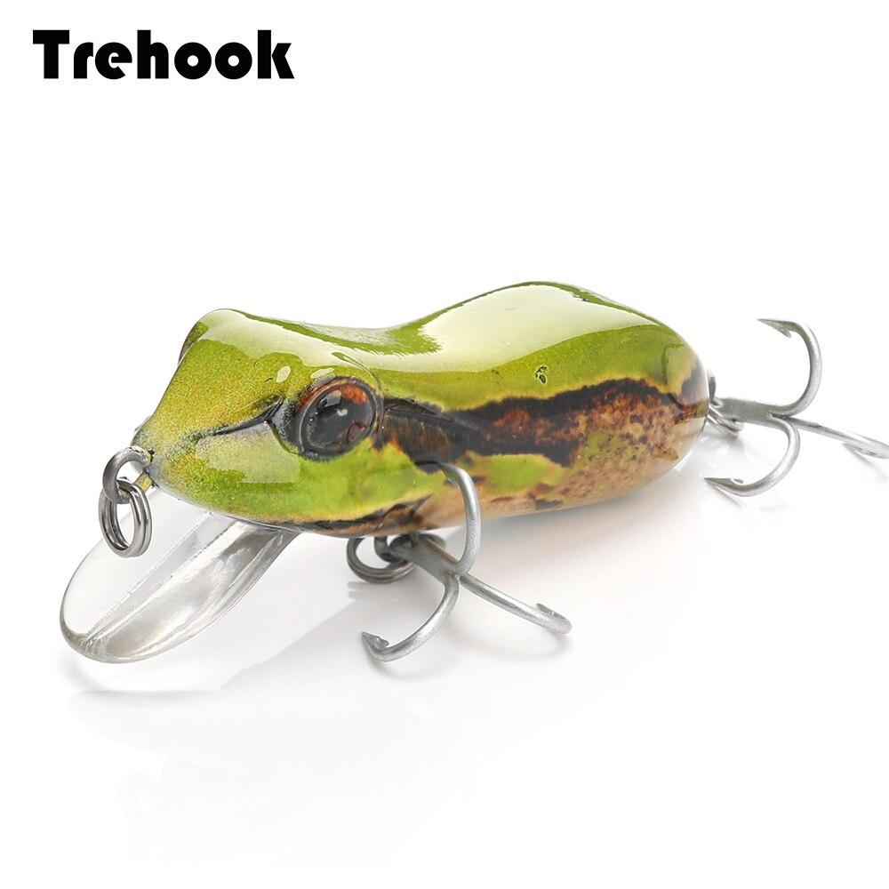 1Pcs 10g Fishing Lures Large Frog Topwater Crankbait Hooks Bass Bait Tackle New