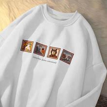 2021 outono feminino hoodies oversize feminino solto algodão sólido engrossar quente feminino sweatshirts senhora moda mais tamanho