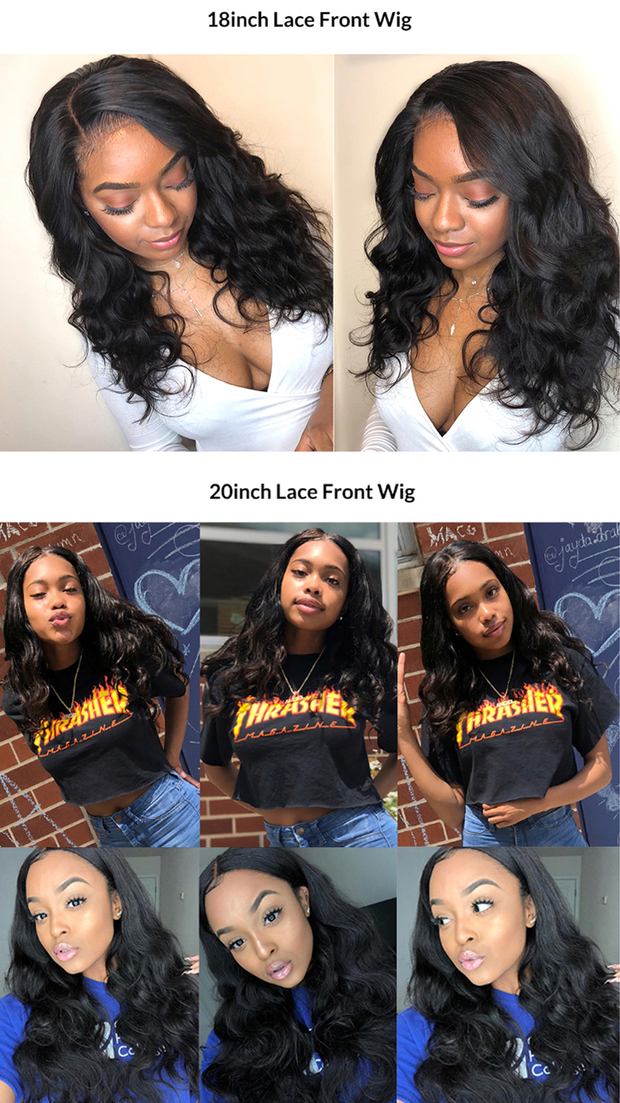 H4565f15dc40b4ffb8c0c86bbeb22a5dee Body Wave Lace Frontal Wig Human Hair Wigs 13×4 Lace Frontal Human Hair Wigs For Black Women Pre Plucked Non Remy Hair