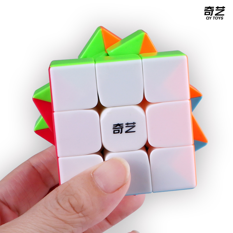 QiYi Warrior S 3x3x3 Magic Speed Cube Stickerless Puzzle Cubes Educational Toys For Children
