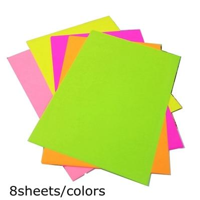 A4 цветная оберточная бумага копировальная бумага для печати 80 г Детский Цветной Материал оригами Бумага ручной работы картонная посылка - Цвет: 40 sheets A4