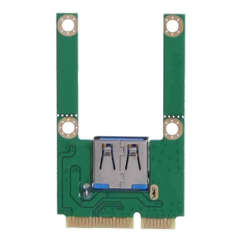 Mini pci-e para usb3.0 pci express card, pci-e para usb 3.0, placa de expansão, componentes do computador, adicionar cartões para laptop