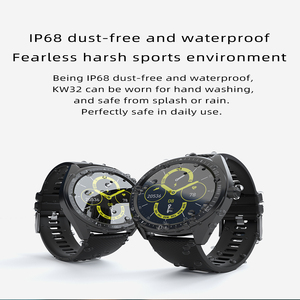 Image 3 - KW33 Smart Horloge Mannen IP68 Waterdichte 460Mah Lange Standby Fitness Tracker Hartslagmeter Bloeddruk Sport Smartwatch