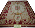 STUNNING PASTEL Camel Beige French Scroll Roses Gorgeous Aubusson Carpet 200x300CM'6.56x9.84' za-01gc147aubyg30