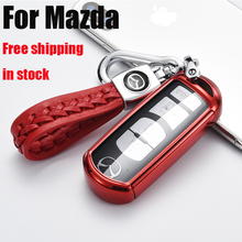 цена на ZOBIG tpu Car Key Cover Case For Mazda 2 3 5 6 8 Atenza CX5 CX-7 CX-9 MX-5 RX Smart