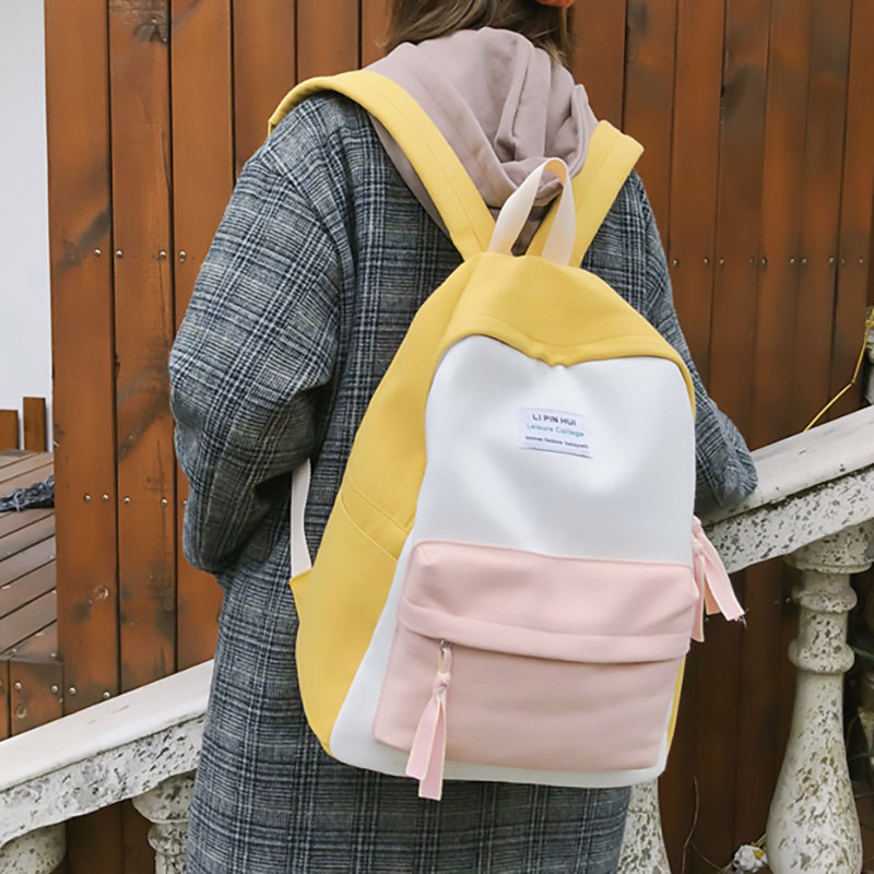 2019 New Fashion Women Backpack Leisure Shoulder School Bag For Teenage Girl Bagpack Rucksack Knapsack Backpack Innrech Market.com