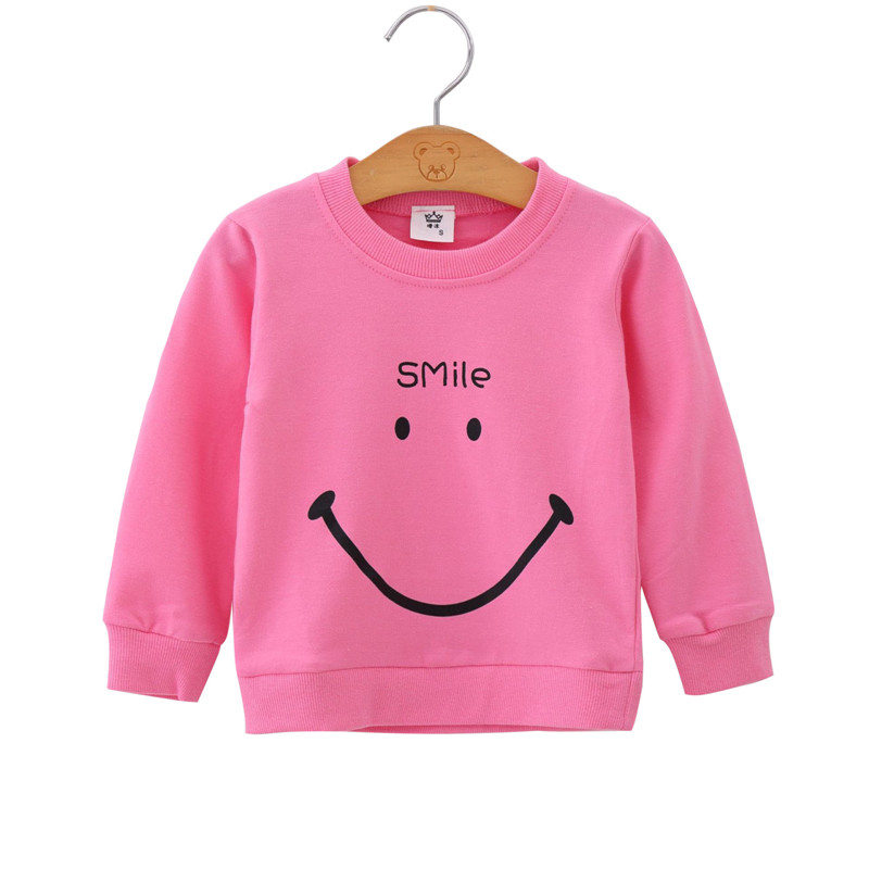 Cute Baby Girl Pink Sweatshirt 1-6Yrs Autumn Winter Long Sleeve Keep Warm Girls Coat For Birthday Party Baby Girl Clothes