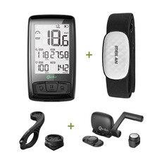 Meilan Bluetooth ANT + Bicicletta del calcolatore Della Bici del Tachimetro Tachimetro Cadenza + Sensore di Velocità Tempo può Ricezione della frequenza cardiaca