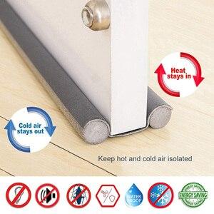93CM Soundproofing Door Bottom Sealing Strip Guard Under Door Draft Stopper Seal Strip Foam Door Blocker Sealing Strips
