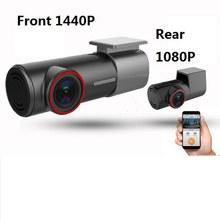 U700 – caméra de tableau de bord cachée FHD 1080P, avec détecteur DVR, WiFi, contrôle par application, enregistreur vidéo, moniteur de stationnement 24H