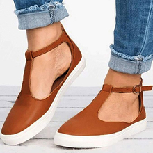 Women Leather Shoes Sandals Flats Sole Ladies Casual Soft Slides zapatos de mujer