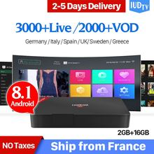 Code IUDTV Europe IPTV Box Leadcool Pro RK3229 Android 8.1 2G+16G UK Nordic Turkey Portugal Subscription IP TV 1 Year