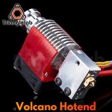 Trianglelab v6 화산 hotend 12V/24V 원격 Bowen 인쇄 PT100 용 E3D Hotend 용 J 헤드 핫 엔드 및 냉각 팬 브래킷