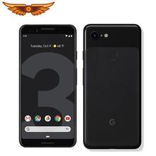 Google pixel 3 octa núcleo 5.5 Polegada único sim 4g lte 4gb ram 64gb/128gb rom 12mp câmera android original desbloqueado smartphone