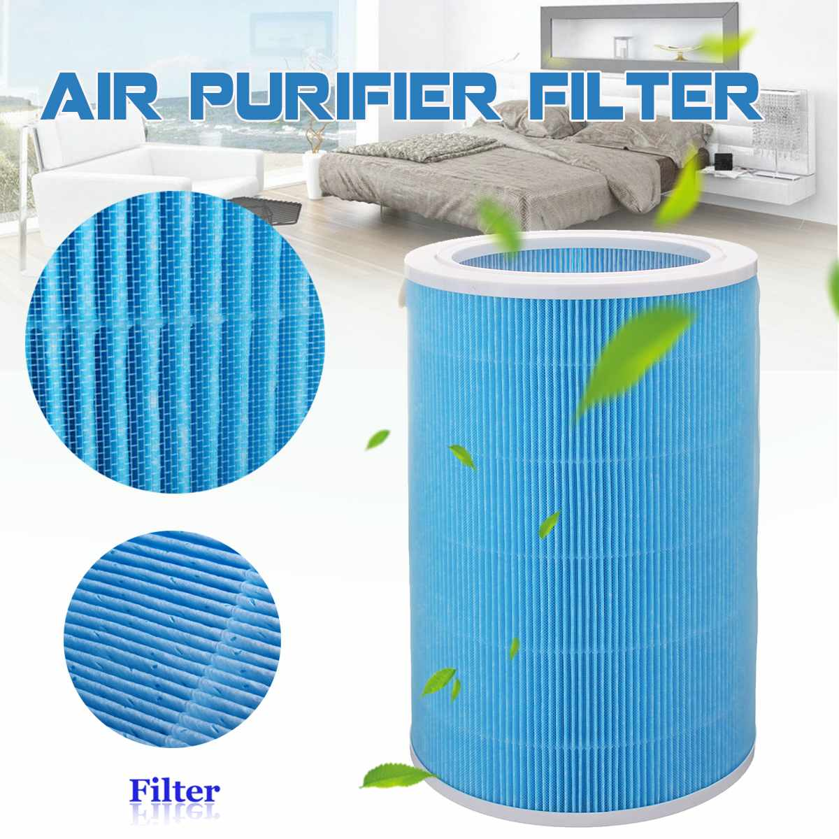 PM2.5 Air Purifier Filter Replacement For Xiaomi 1 2 Gen 2S Pro Air Purifier Formaldehyde Remover Filter