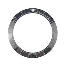 새로운 41.5mm 고품질 세라믹 베젤 인서트 다이버 시계 바다 마스터 오션 스타일 블랙 Lumed pip