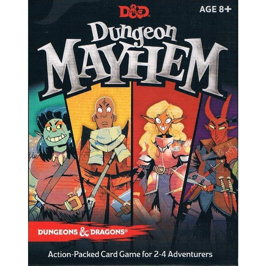 Dungeon Mayhem And Dragon Card Game