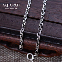 """Real 925 Sterling Silver 3mm Rectangle Link Chain Necklace 18"""" 20"""" 22"""" 24"""" 26"""" Fine Jewelry"""