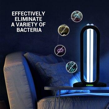 50W UV lamp Quartz Germicidal Disinfection UVC CFL Ozone LED Light bulb Ultraviolet Sterilizer bacterial Kill Mite Home lamp