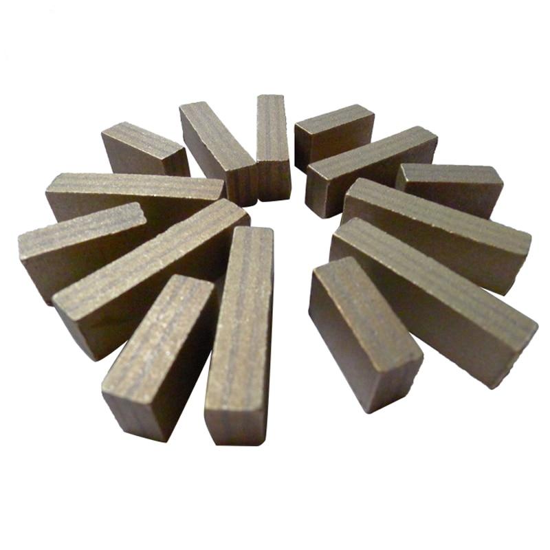 D1200-D2000 Marble Travertine Lava Stone Blocks Cutting Tools Diamond Segment