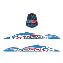 R 1200 GS Motorcycle Sticker Decal Adventure For BMW R1200GS R1200 GS ADV Front Fender Beak Extension Cover Printing Film Moto bjmoto for bmw r1200gs adv adventure 2014 2015 2016 2017 2018 moto fender beakfuel tank 3d silicone sticker cover decal tank pad