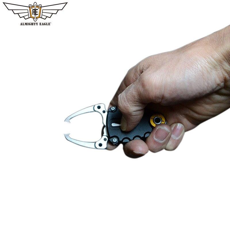 Маленький рыболовный захват almighty eagle из алюминиевого сплава