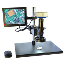 HD Industrial Electron Microscope Mobile Phone Maintenance Microscope VGA/USB Industrial Camera Kit Stored