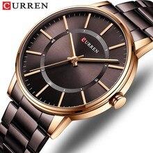 Novo estilo esportivo homens warterproof relógio masculino 8385 curren marca de luxo relógio masculino negócios quartzo relógio pulso relogio masculino