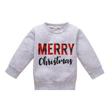 Sweatshirt Kids Girls Baby Casual Cotton Letter Tops Pullover Print Homesuit Autumn 0-4Y