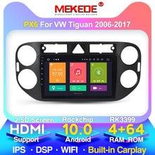 M400 1024x600 Player GPS Navi para VW tiguan 2010, 2011, 2012, 2013, 2014, 2015, 2016 Android 10,0 8Core 4G DSP 2DIN DVD