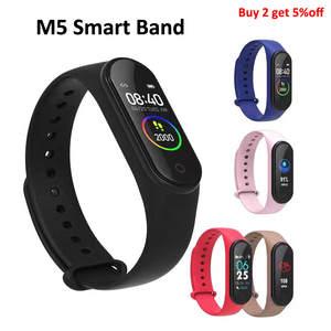 Music Bracelet Smartwatch Sports-Tracker Fitness Women M5 Band New Play for Adriod IOS