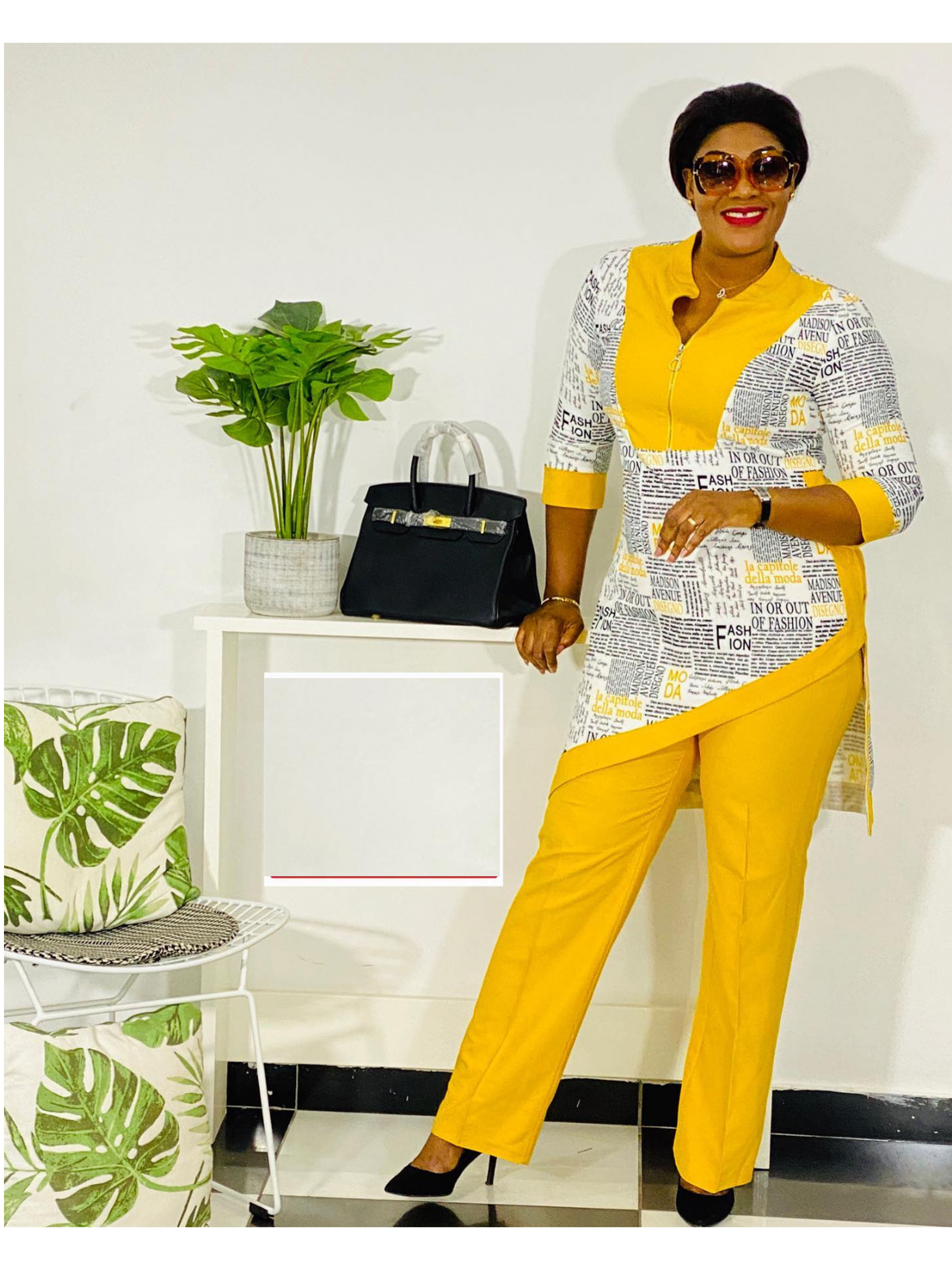 Dashiki African New Fashion Suit  1