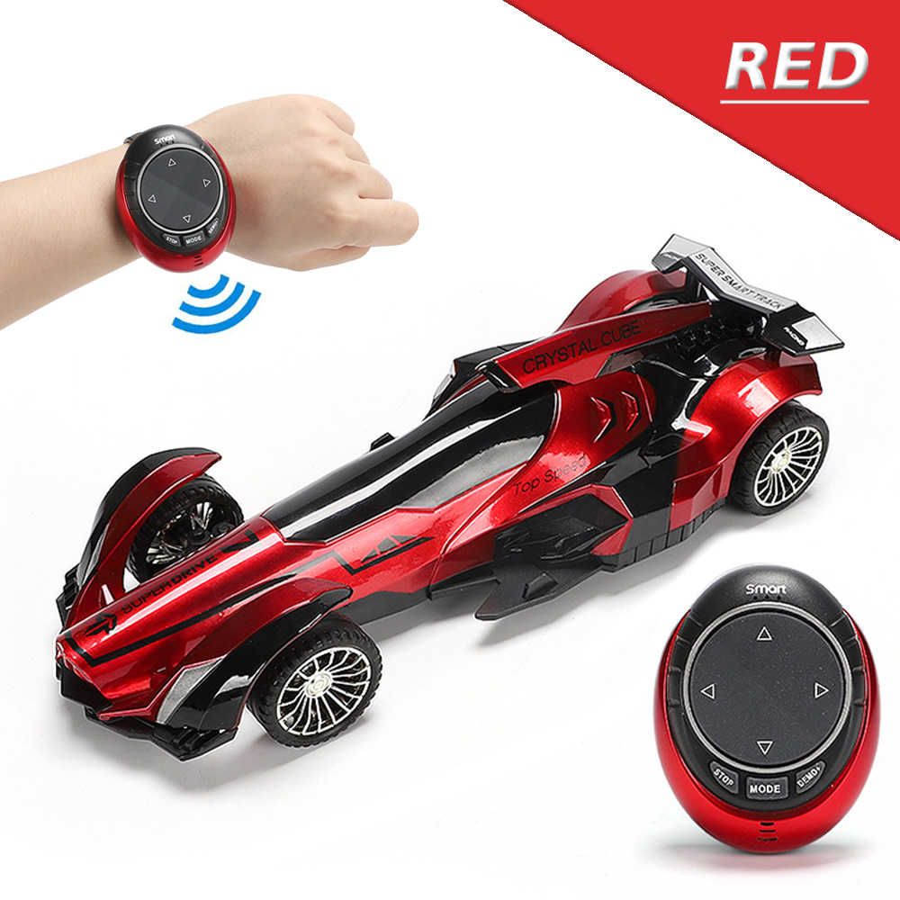 Intelligent Voice RC Equation Car 2.4G Voice Smart Watch Remote Control Racing Car High Speed Drift Vehicle Toy For Boys Gifts