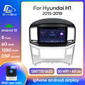 Prelingcar Android 10 For Hyundai H1 2 2017 2018 Car Radio Multimedia Video Player GPS Navigation NO DVD 2 Din Octa-Core DSP 4G