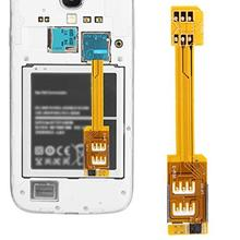 Dual SIM Adapter Micro SIM Conversion SIM card Universal For Samsung For 4Generations Chip iphone5 I3M5