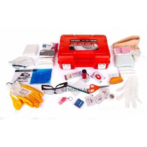 48 Piece Earthquake Bag Set Earthquake Bag Containing All Materials Required Earthquake In Natural Disaster Aid Kit