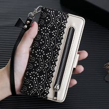 LCHULLE Flip Wallet  Cases for Samsung S20 Ultra S10 S9 S8 Plus Card Holder Cover for Galaxy S10e Note 10 Plus 5G Coque Funda
