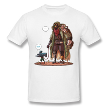 Borderlands 3 With A Beep print casual mens o-neck tee shirt homme and fashion 100% Cotton Hip Hop Streetwaear T-Shirt