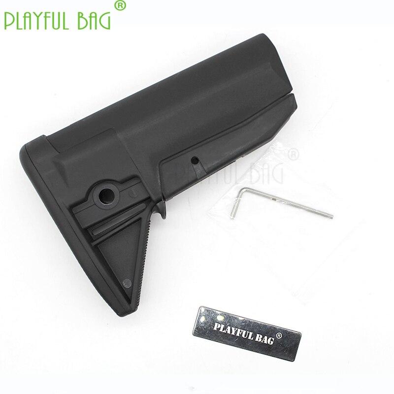 Water Bullet Toys Gun Parts BCM Remaster Version MOD0 Rear Support Refitted Parts FTM3 Jinming 9 HK416 LDT Blast Reform KD43