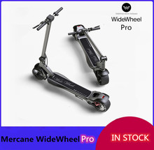 2020 Latest Mercane WideWheel Pro Kickscooter 1000W 40Km/h Smart Electric Scooter Wide Wheel Dual Motor Disc Brake Hoverboard